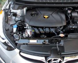 Двигатель Hyundai Elantra