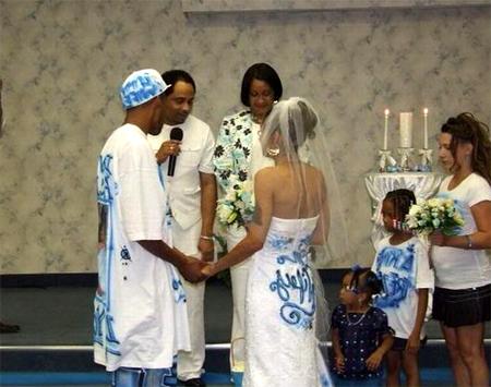 Свадьба в стиле реп