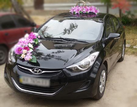 Машина на свадьбу Hyundai Elantra New