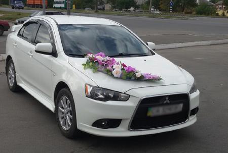 Машина на свадьбу Mitsubishi Lancer X